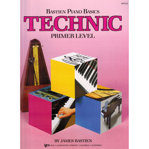 Bastien Piano Basics Technic Primer Level