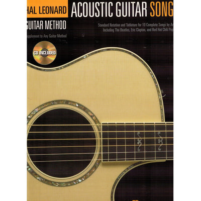 HAL LEONARD GUITAR METHOD ACOUSTIC GUITAR