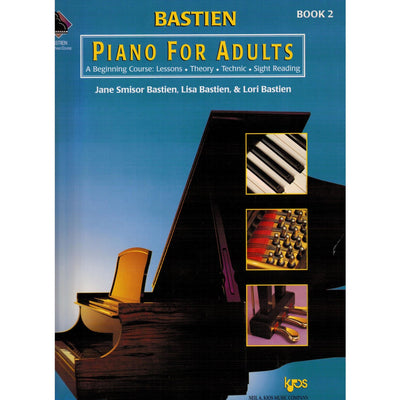 BASTIEN PIANO FOR ADULTS, BOOK 2 (BOOK ONLY)