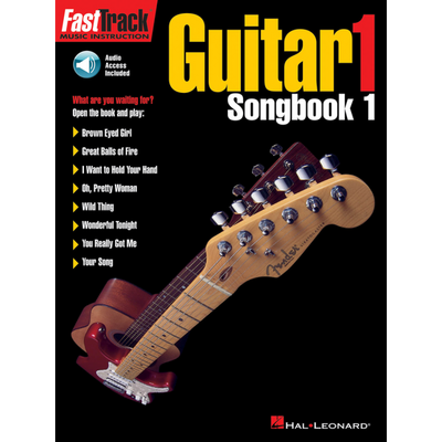 FASTTRACK GUITAR SONGBOOK 1 – BOOK 1