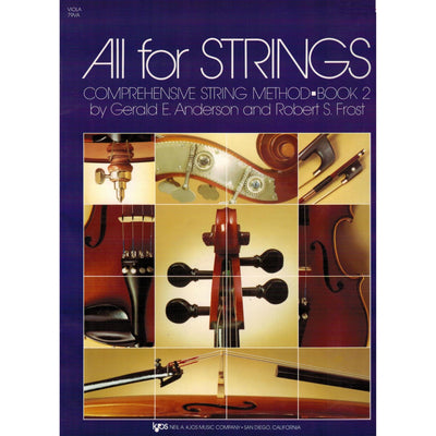 ALL FOR STRINGS BOOK 2 – VIOLA