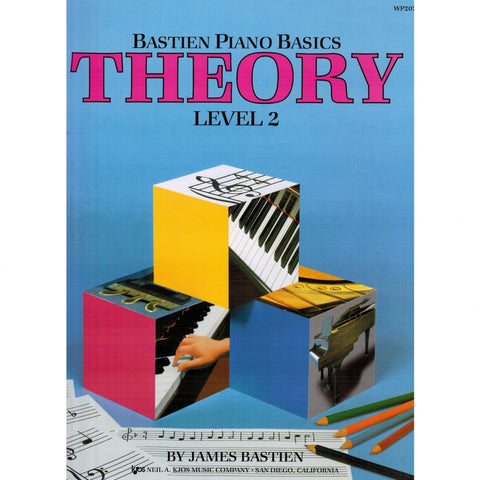 Bastien Piano Basics Theory Level 2