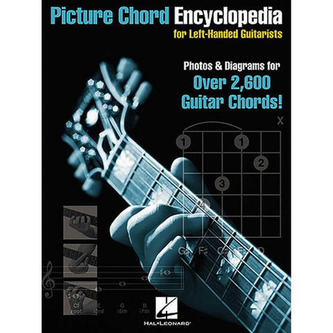 PICTURE CHORD ENCYCLOPEDIA LEFT HANDED GUITAR