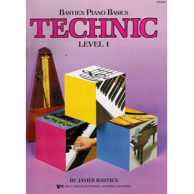 Bastien Piano Basics Technic Level 1