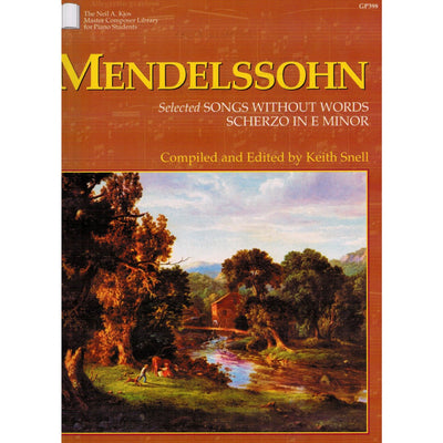 Mendelssohn Selected Songs Without Words Scherzo in E Minor