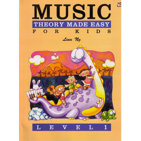Music Theory for Kids Made Easy Level 1