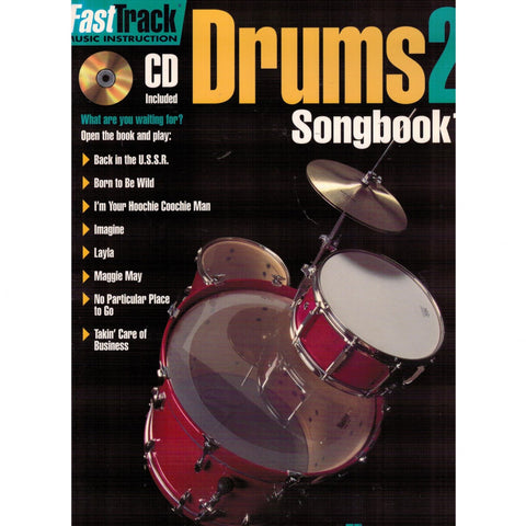 FASTTRACK DRUMS SONGBOOK 1 – LEVEL 2