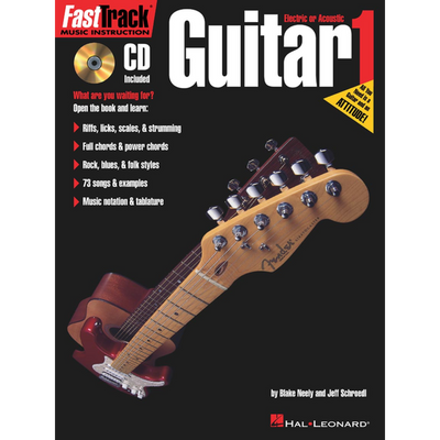 FASTTRACK GUITAR METHOD – BOOK 1