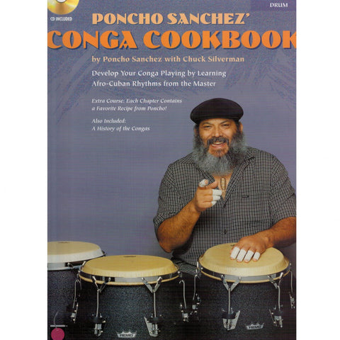 Poncho Sanchez' Conga Cookbook