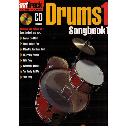 FASTTRACK DRUMS SONGBOOK 1 – LEVEL 1