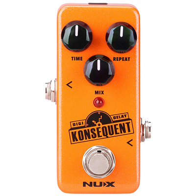 NUX NDD2 KONSEQUENT GUITAR DIGITAL DELAY MINI EFFECTS PEDAL