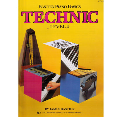 Bastien Piano Basics Technic Level 4