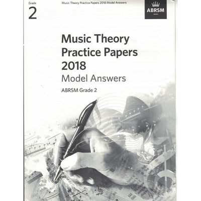 Music Theory Practice Papers 2018 Model Answers Grade 2