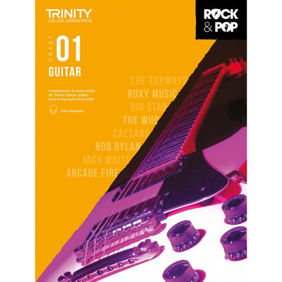 Trinity: Rock & Pop 2018 Guitar Grade 1