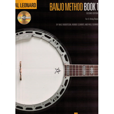Hal Leonard Banjo Method Book 1 Second Edition