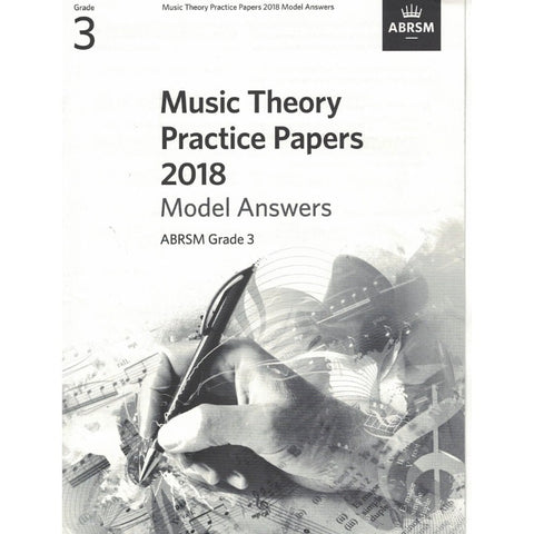 Music Theory Practice Papers 2018 Model Answers Grade 3