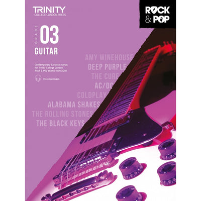 Trinity: Rock & Pop 2018 Guitar Grade 3