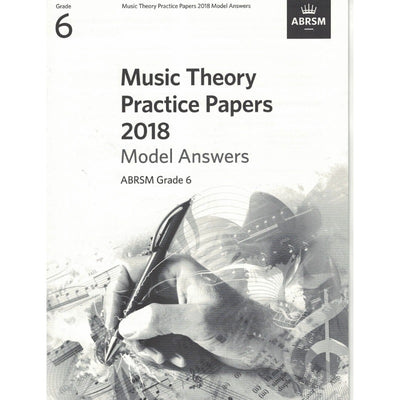 Music Theory Practice Papers 2018 Model Answers Grade 6