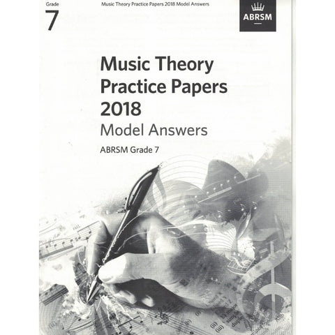 Music Theory Practice Papers 2018 Model Answers Grade 7