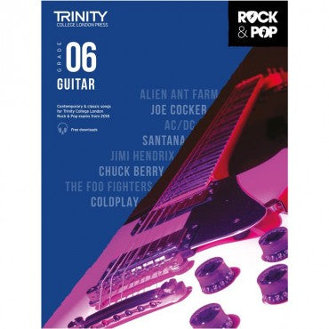 Trinity: Rock & Pop 2018 Guitar Grade 6