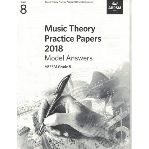 Music Theory Practice Papers 2018 Model Answers Grade 8