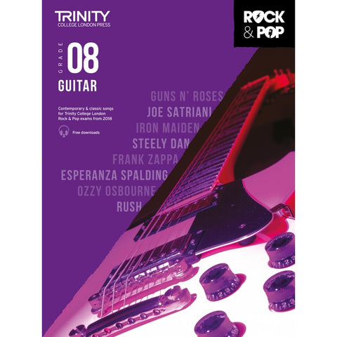 Trinity: Rock & Pop 2018 Guitar Grade 8