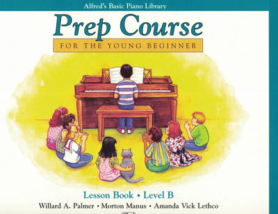 Prep Course | Basic Piano | Lesson Book A-F