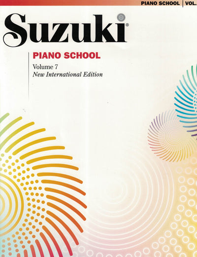 Suzuki Piano School | New International Edition Volume 7