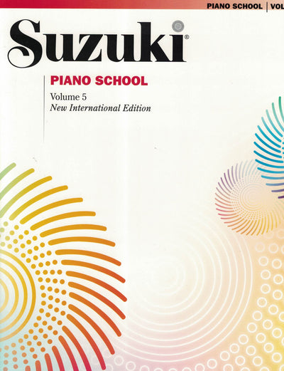 Suzuki Piano School | New International Edition Volume 5