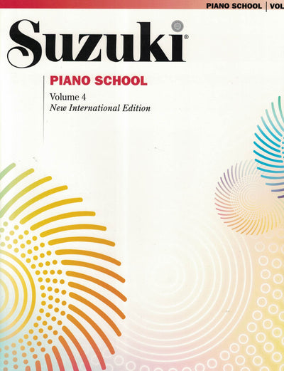 Suzuki Piano School | New International Edition Volume 4