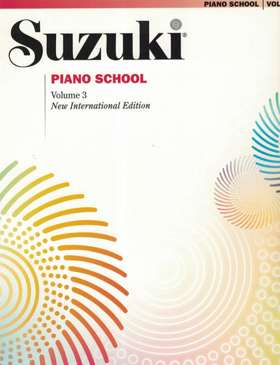 Suzuki Piano School | New International Edition Volume 3