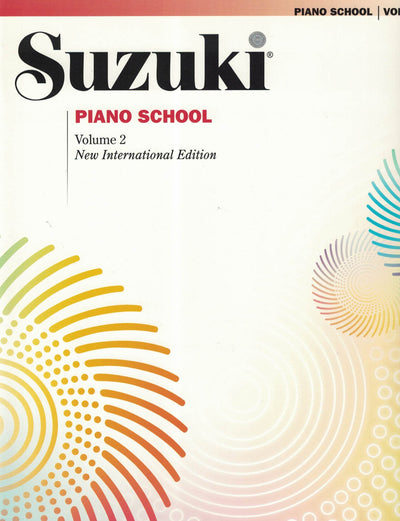 Suzuki Piano School | New International Edition Volume 2