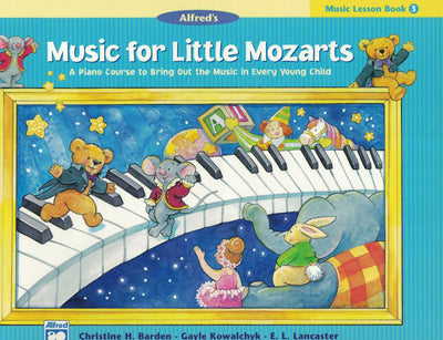 Music for Little Mozarts | Music Recital Book 3