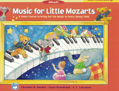 Music for Little Mozarts | Music Lesson Book 1