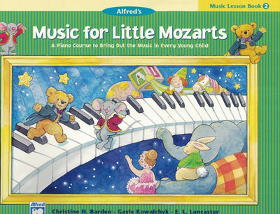 Music for Little Mozarts | Music Lesson Book 2