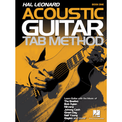 Acoustic Guitar Tab Method Book One