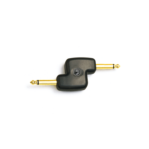 D'addario Planetwaves 1/4 INCH MALE MONO OFFSET Audio Adaptors (PW-P047B)