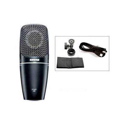 Shure PG27-USB Cardioid Microphone with USB Connector