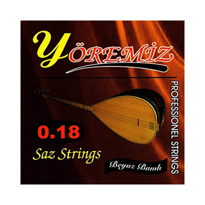 Yoremiz 0.18 Saz Strings - Professional Strings