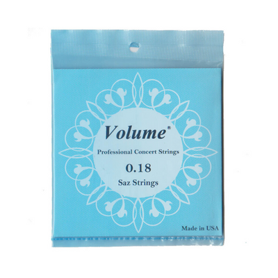 Short Saz Baglama Strings 0.18mm – Volume (Premium Quality)