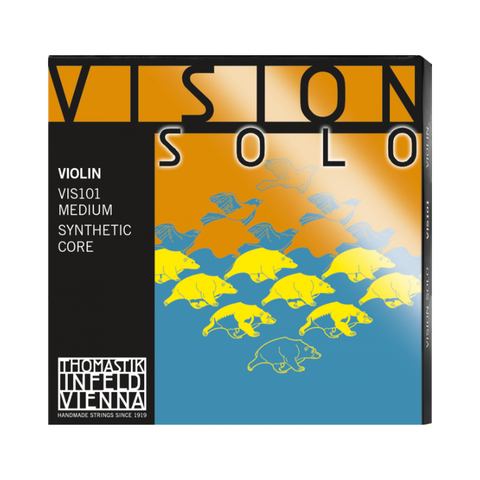 Vision Solo Violin Strings Synthetic Core - VIS101 Thomastik Infeld Vienna 4/4