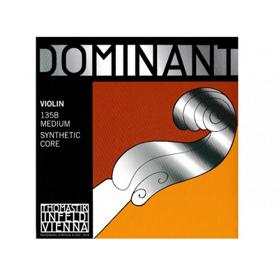 Dominant 135B Violin String Set Medium Synthetic Core