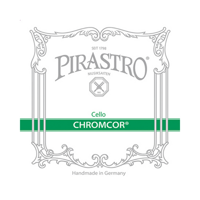 PIRASTRO 256879 CHROMCOR CORE CELLO STRING SET, 3/4-1/2