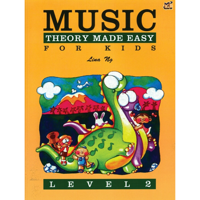 Music Theory Made Easy for Kids Level 2
