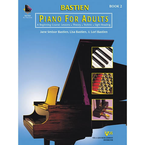 Bastien Piano for Adults Book 2 (w/ 2 CDs)