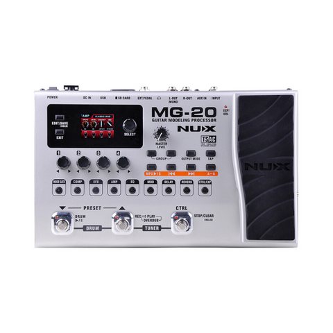 Nux MG20 Guitar Modeling Processor