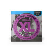 D'Addario EXL120-8 Nickel Wound Electric Guitar 8 String Set 9/65 - Super Light
