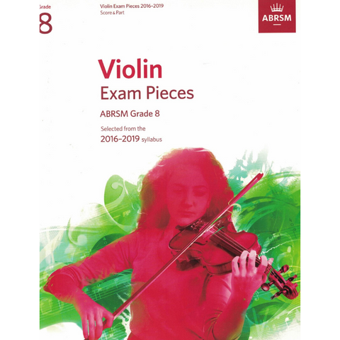 ABRSM: Violin Exam Pieces Grade 8