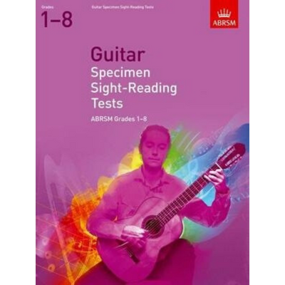 ABRSM: Guitar Specimen Sight-Reading Tests Grades 1-8