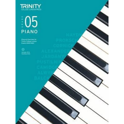 Trinity: Piano Pieces & Exercises Grade 5